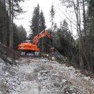 Forstwegebau